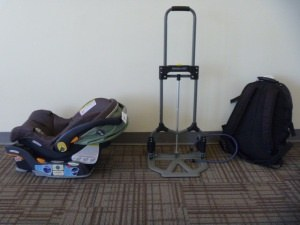 What are good hacks for traveling with babies / toddlers on long ...