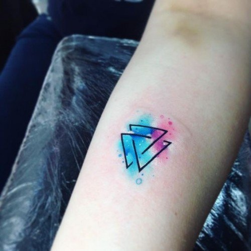 What Does A Triangle Tattoo Mean Quora