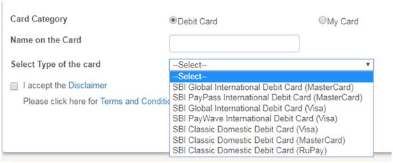How do I renew my SBI ATM card?