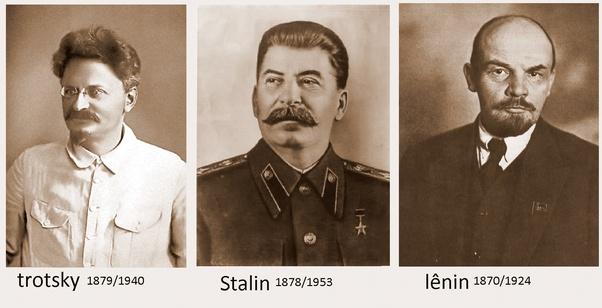 Image result for Lenine, Trotsky eD staline
