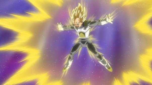 Goku Charging His Kamehameha Vegeta Final Flash
