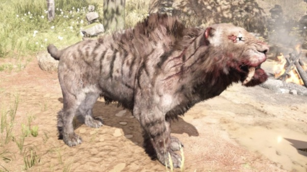 In Farcry Primal Is The Great Scar Bear Of Any Use Since All It
