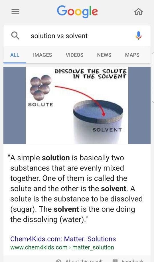 What Are The Differences Between Solvents And Solutes Quora