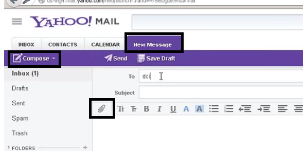 Unable to attach a file on Yahoo, what to do? - Quora