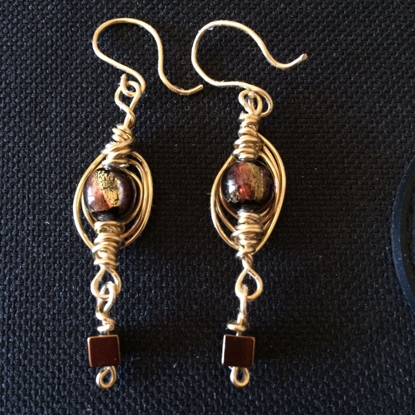 It Is Made With Diffe Types Of Wire And Beads You Need The Tools To Bend Shape Your Creative Mind Design Pieces