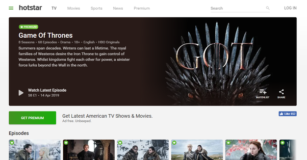 How to watch Game of Thrones season 8 in your country - Quora