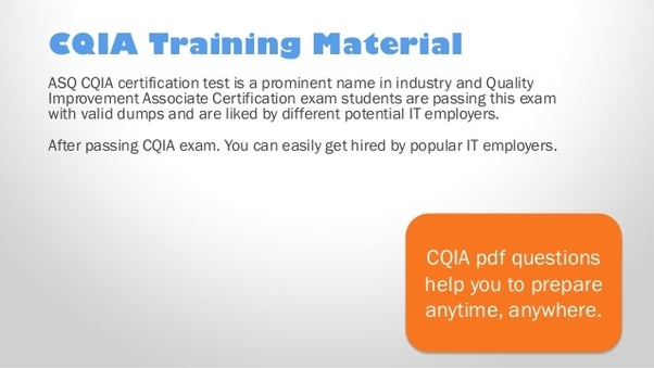where can i get some help with a cqia certification? - quora
