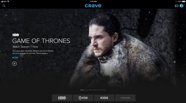 Which is the best app to watch game of thrones? - Quora