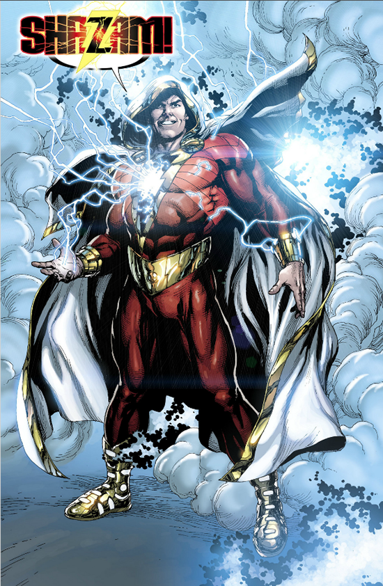 Shazam Aquaman Get New Magazine Covers: Who Would Win In A Fight, Aquaman Or Shazam?