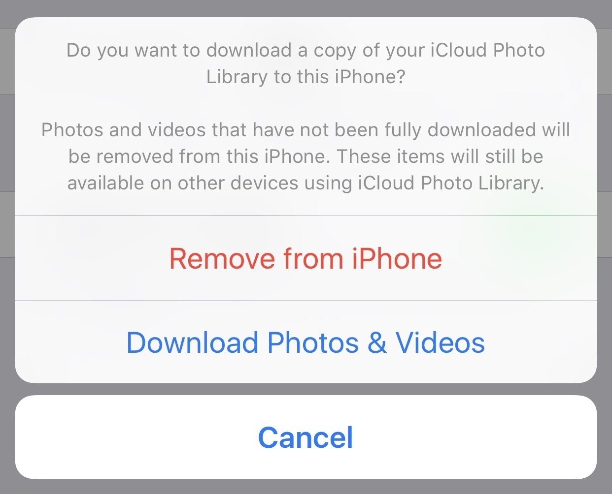 How to delete photos from my icloud photo library