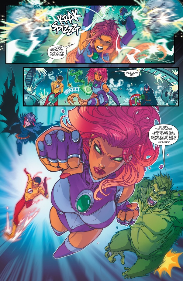 What's the issue with Starfire controversy in Titans? Is it