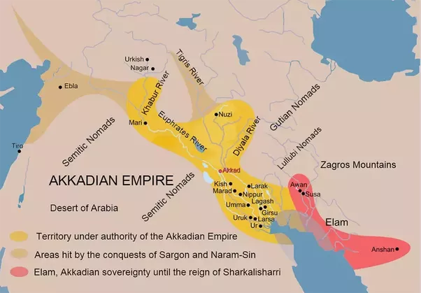Who were the Akkadians, Assyrians, Sumerians, Babylonians ...