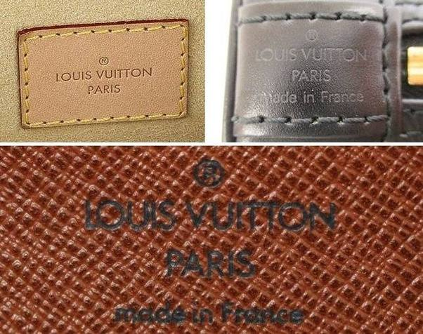 1 Louis Vuitton Stamping