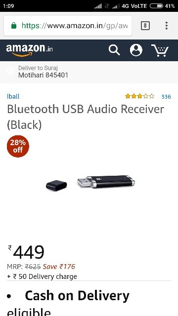 I have a portable speaker with a USB slot. Can I use a ...
