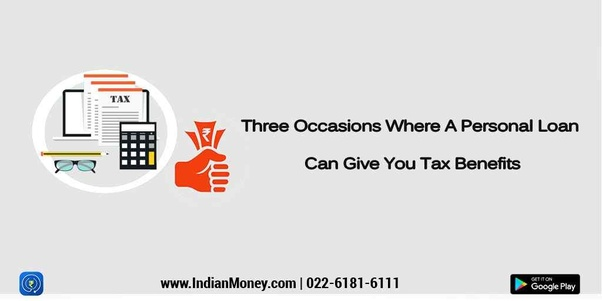 Are Personal Loans Taken As Tax Exemptions Quora