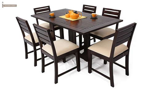 Superieur Pepperfry: They Also Have An Amazing Range Of Dining Table Set With A  Capacity Of 6 People. Some Pictures Of The Same Are Attached Below, Have A  Look.