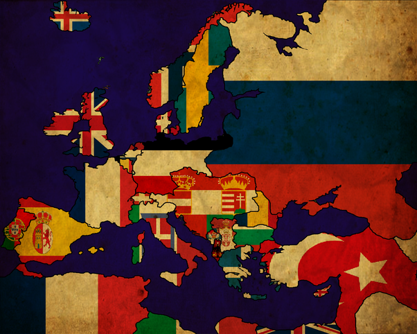 What Are The Flags Of Europe In 1914 Quora