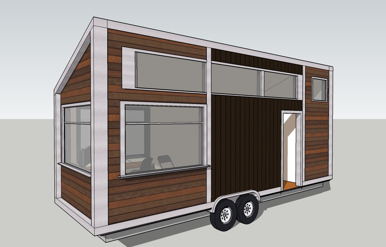 When building your tiny home, did you design your own or use ...