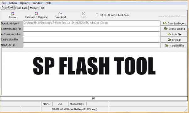 download android flash tool