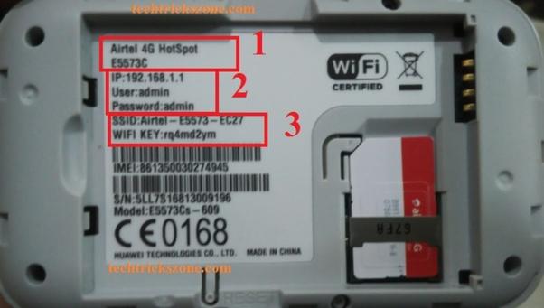 Huawei Router Wifi Password