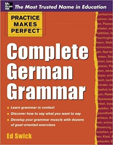 Hammers German Grammar And Usage Pdf