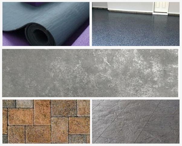Concrete Floor Paint Epoxy Sealers Interlocking Tiles Rollout Mats