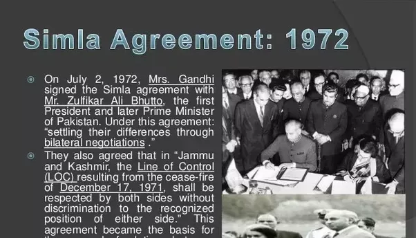 What is the story behind pakistan administered kashmir what is the agreements main clause was that kashmir is a bilateral issue and would be settled mutually through dialogue the unsc resolutions thus became platinumwayz