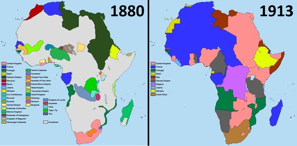 Why didnt germany and italy colonize any nation in the americas the colonisation of africa was rapid this map shows a partial timeline of the colonisation of africa gumiabroncs Image collections