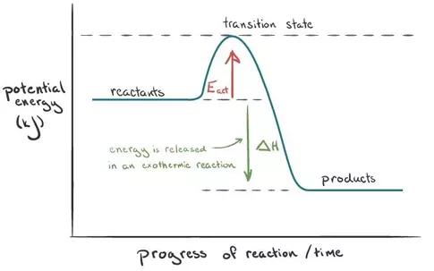 What Is The Activation Energy For A Reverse Reaction Quora