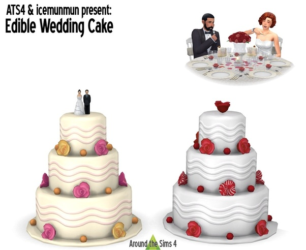 "Where can you buy a wedding cake in ""The Sims 8""? - Quora"