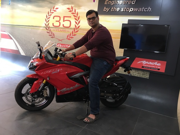 What's your opinion on the new TVS Apache RR 310? - Quora