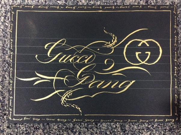 What does your calligraphy look like quora