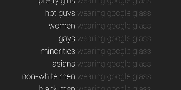 Last Week The Tumblr Blog White Men Wearing Google Glass Went Viral Across Web Featuring Pictures Of