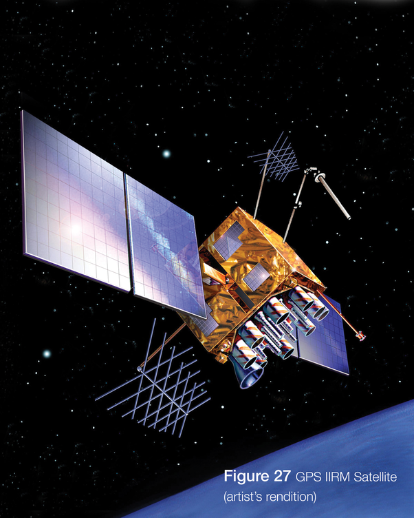 examples of man made satellites