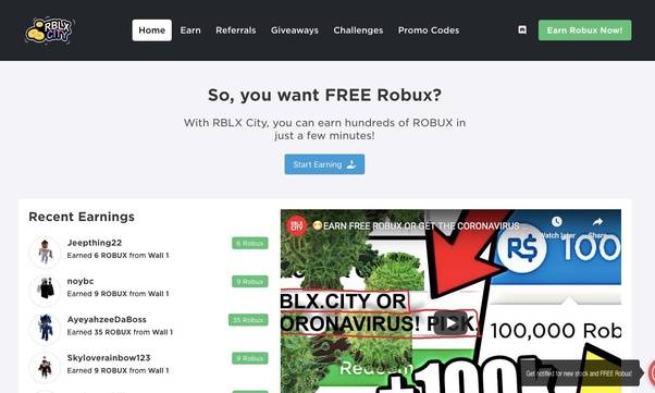 Is Rblx City A Legit Website To Get Free Robux Quora