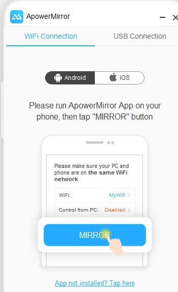 fc4691a4352 Just download the application for both Android and PC. Based on the  instructions, launch the app. You will require a USB cable or WiFi network  to connect ...
