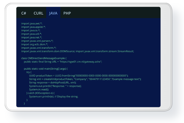 Is there any free SMS API to send messages in Java? - Quora