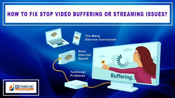 How to fix slow buffering speeds - Quora