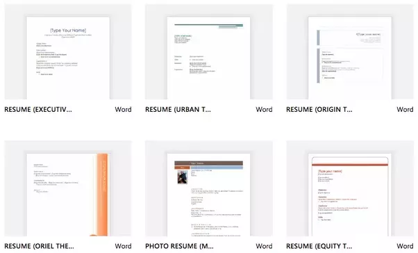 100+ Free Resume Templates In Word Format Are Available On This Website,  You Are Allowed To Edit These Templates And Personalize As Needed.