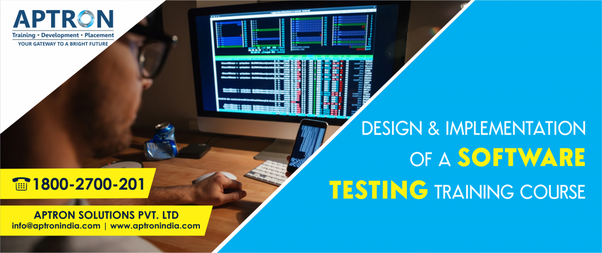 Which institute is good to learn software testing course in