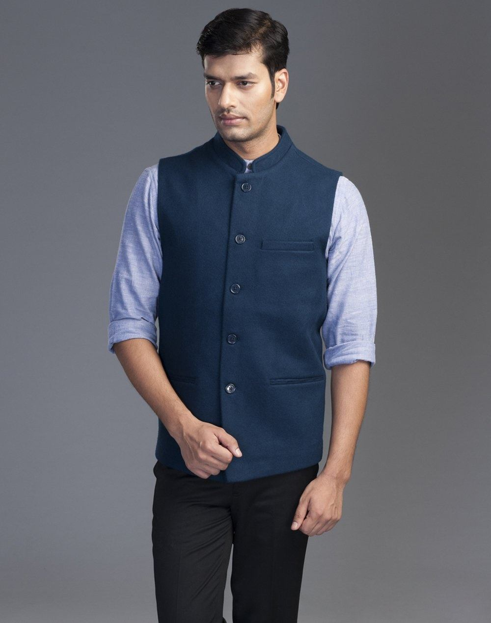 Which Color Shirt Is Better Under Blue Nehru Jacket Quora