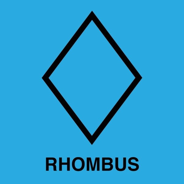 What Is A Non Square Rhombus Quora
