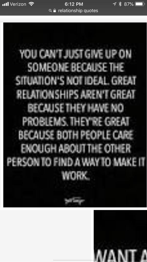 ways to make a relationship work