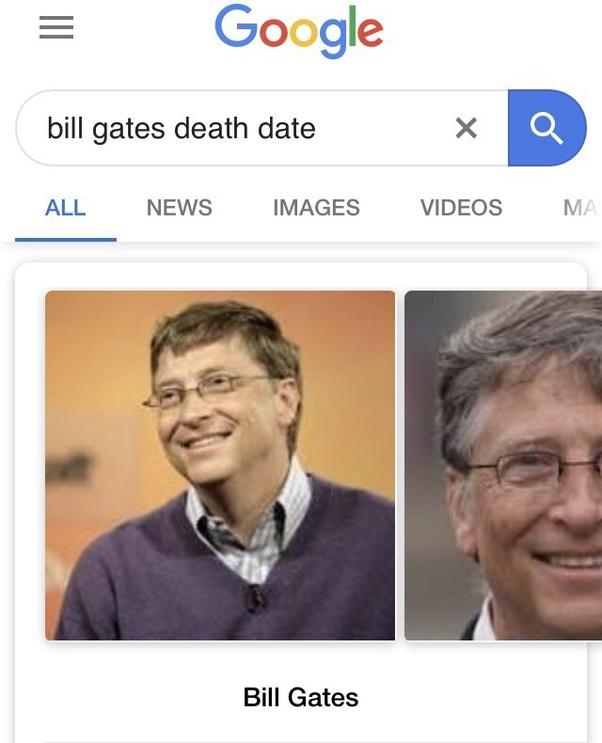 Is Bill Gates dead? - Quora