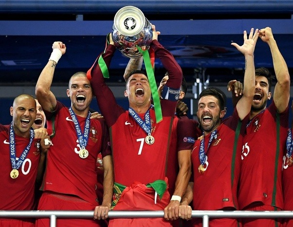 Real Madrid And Manchester United Were Both Great Teams Who Won Lots Of Titles Before Ronaldos Arrival Portugal On The Other Hand Despite Producing