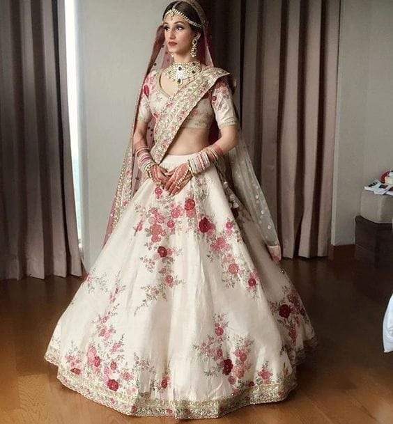 Which Is The Best Color For Lehenga In Wedding Quora