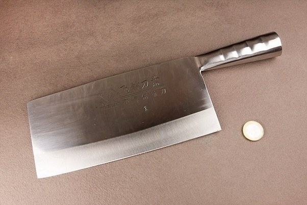 Is a chef knife the best kitchen knife for a knife combat? - Quora