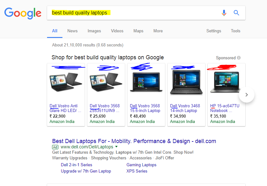 Which laptop is better in terms of build-quality, an HP or a Dell