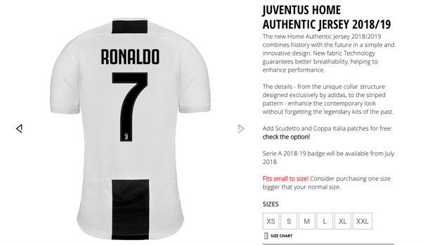 purchase cheap 8c25c 10ffd What shirt number will Cristiano Ronaldo wear at Juventus ...