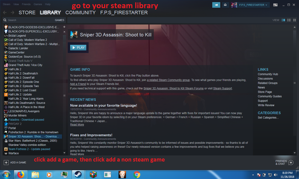 How to buy a game on steam and install without downloading